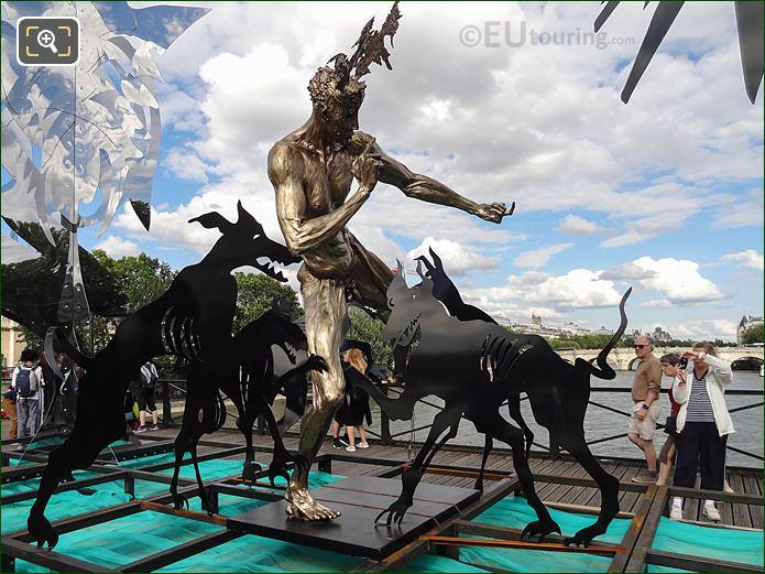 Acteon Sculpture From Enchanted Footbridge Exhibition