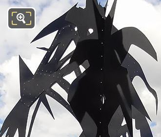 Pont Des Arts Arbre VI Black Sculpture 2016