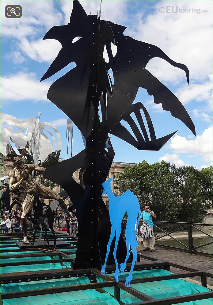 Black Tree 6 Sculpture Pont Des Arts