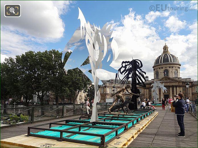 SS Sculpture Arbre II Pont Des Arts