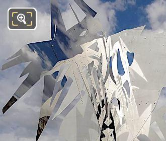 Polished SS Sculpture Arbre VI