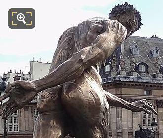 Back Le Paradis Est Un Enfer Sculpture