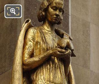 RHS Les Oiseaux Statue