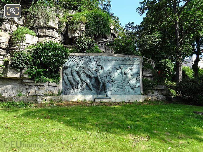 1931 Bronze Monument Admiral De Grasse Paris