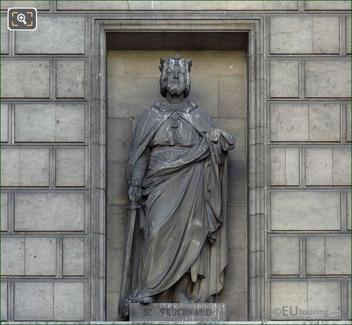 Saint Ferdinand Statue Eglise Madeleine