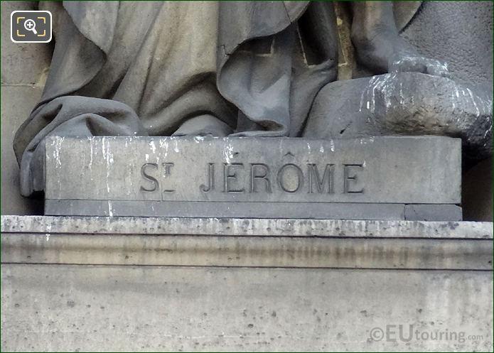 Saint Jerome Inscription Base