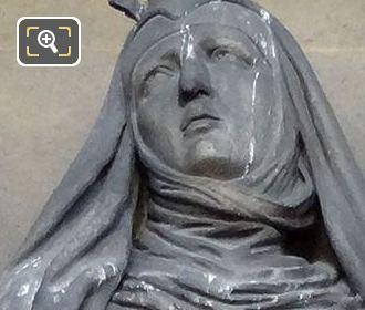 Saint Jeanne De Valois Statue By Arthur Guillot