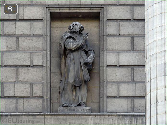 Sainte Gregoire Statue Eglise Madeleine