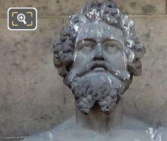 Saint Marc Statue By Sculptor Henri Lemaire