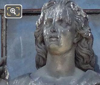 Saint Jean Statue By Sculptor Joseph Coupon