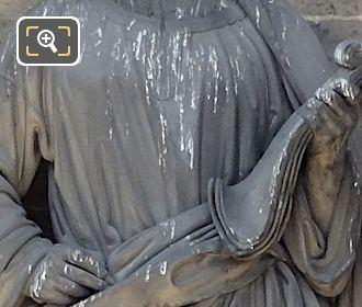 Saint Luke Statue By Sculptor Etienne Jules Ramey