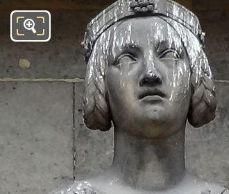 Sainte Agathe Statue By Sculptor Jean Pierre Dantan