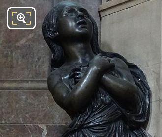 Right Hand Side Girl Statue On Monument De l'Abbe De l'Epee