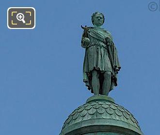 Vendome Column With Bronze Statue Of Napoleon I