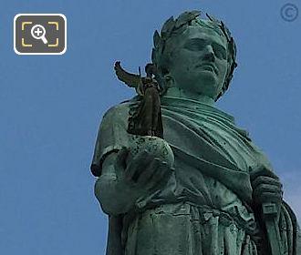Napoleon I Statue By Sculptor Auguste Dumont