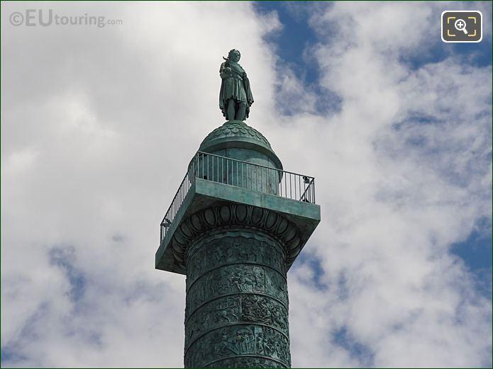 Napoleon I Statue On Colonne De Vendome