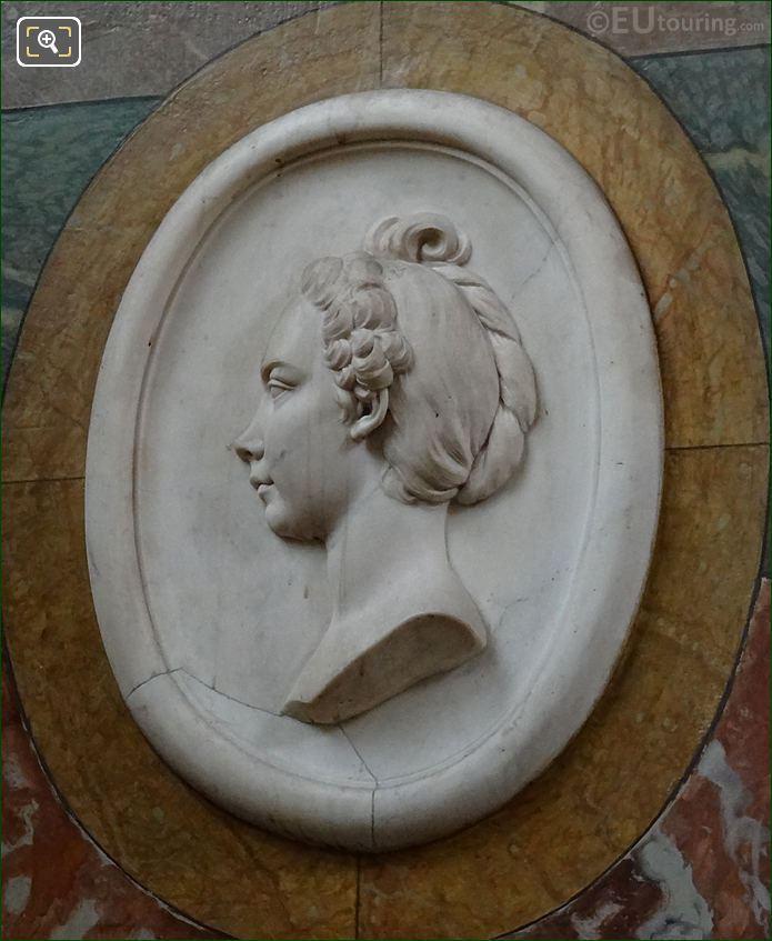 Mme La Live De Jully Medallion By Artist Etienne Maurice Falconet