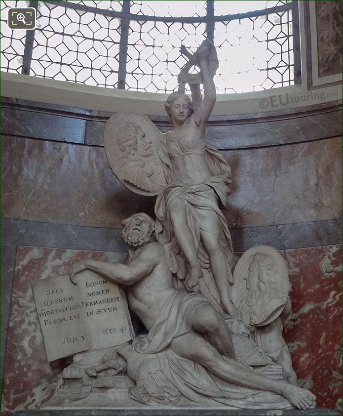 Monument Du Henri De Lorraine At Eglise Saint-Roch