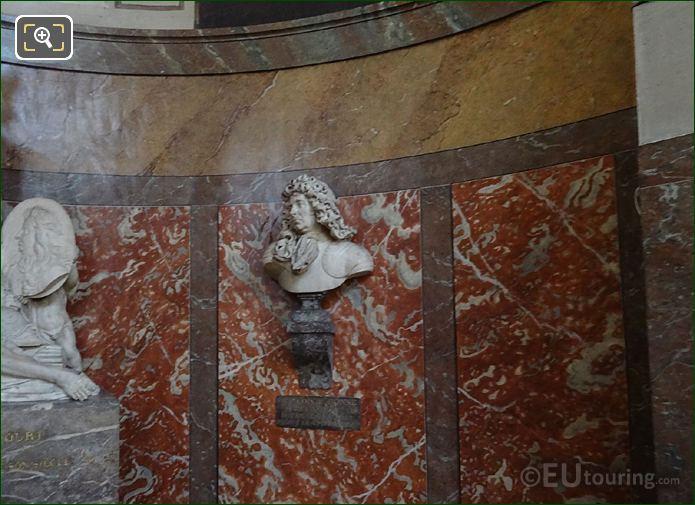 Francois De Crequy Bust Inside Chapelle Des Monuments Area