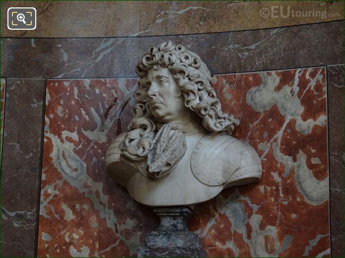 Francois De Crequy Bust By French Sculptor Antoine Coysevox