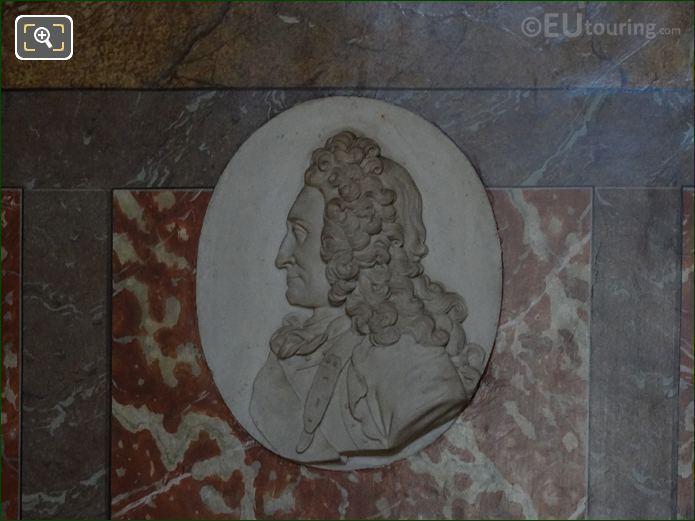 Claude Francois Bidal, Marquis d'Asfeld Sculpture In Eglise Saint-Roch
