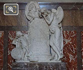 Pierre-Louis Moreau De Maupertuis Monument Inside Eglise Saint-Roch