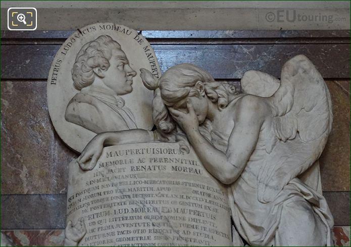 Pierre-Louis Moreau De Maupertuis Monument By Sculptor Jean Baptiste d'Huez