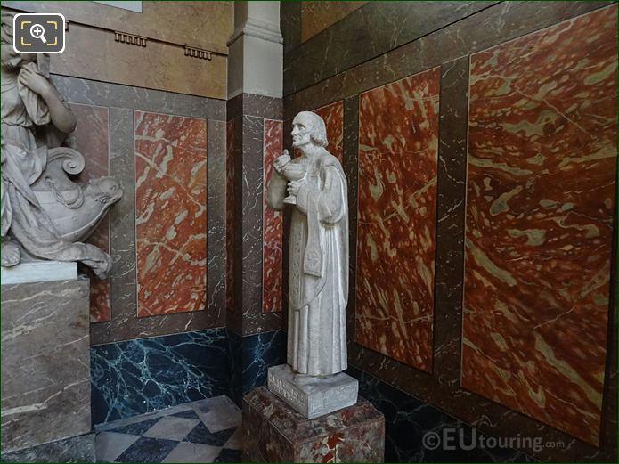 Chapelle Saint-Etienne With Saint Jean Vianney Cure d'Ars Statue