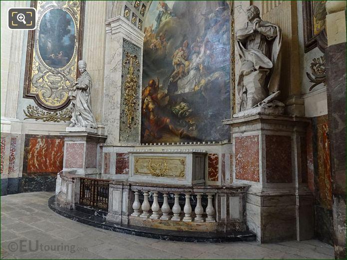 Chapelle Sainte Genevieve With Saint Francis De Sales Statue