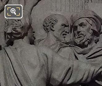 Jesus Presente Au Peuple Sculpture By Sculptor Constant Delaperche