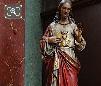 Chapelle Saint Antoine De Padoue With Saint Margaret Mary Alacoque Statue