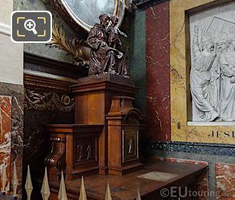 Saint Anthony Of Padua Inside Chapelle De Saint Antoine De Padoue