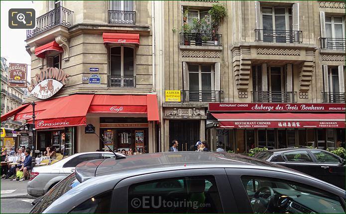 Facade Of 280 Rue Saint Honore Building In Paris