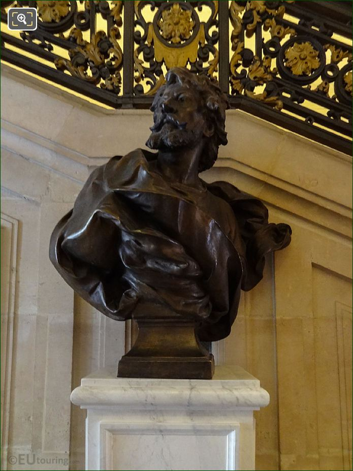 Jean Mounet-Sully Bronze Bust By French Sculptor Lucien Pallez