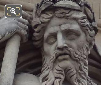 Palais Royal La Navigation Statue By Sculptor Antoine Francois Gerard