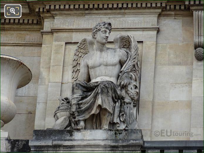 La Science Statue At Palais Royal