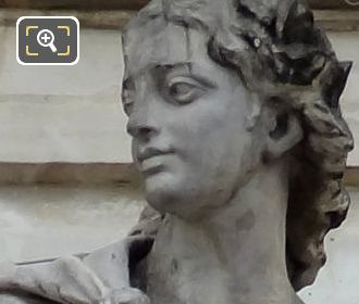 God Apollo Statue By French Sculptor Augustine Pajou