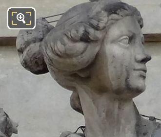 La Liberalite Statue By French Artist Augustine Pajou