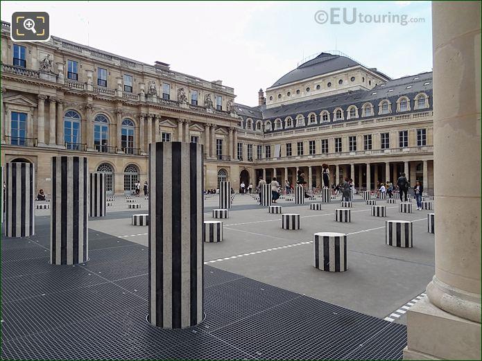 Les Deux Plateaux Within Cour D Honneur At Palais Royal