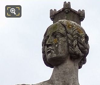 Head And Shoulders Of Strasbourg Statue