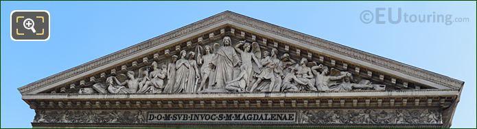 Le Jugement Dernier Eglise De La Madeleine South Facade