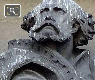 Sainte Gregoire Statue By Etienne Hippolyte Maindron