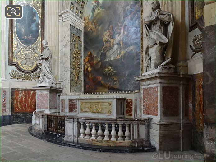 Chapelle Sainte Genevieve With Saint Gregoire Le Grand Statue On Left Hand Side