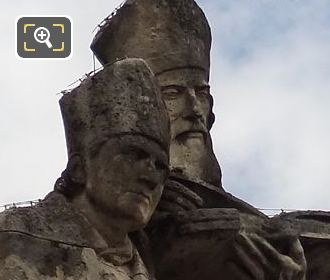 Fathers Of The Church Statues By Sculptor Marcelin Firmin Michelet
