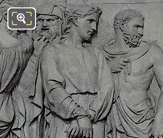 Jesus Condamne A Mort Sculpture By Artist Constant Delaperche