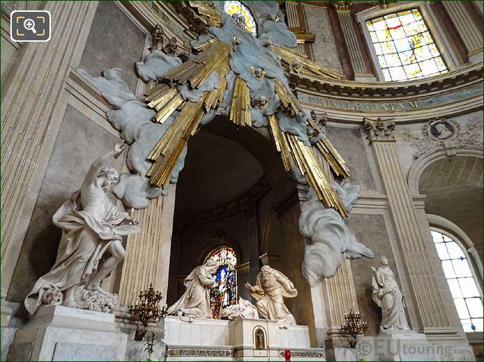 Eglise Saint-Roch Statue Of Saint Jerome In Chapel Of The Virgin