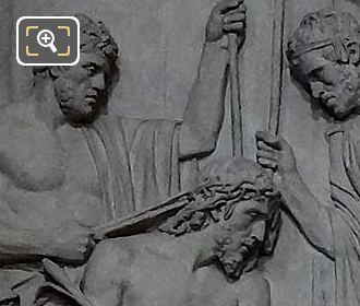 Jesus Couronne d'Epines Sculpture By Sculptor Louis Pierre Deseine