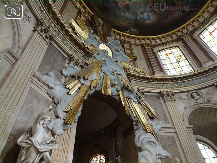 Eglise Saint-Roch Gilded Sculpture Divine Glory
