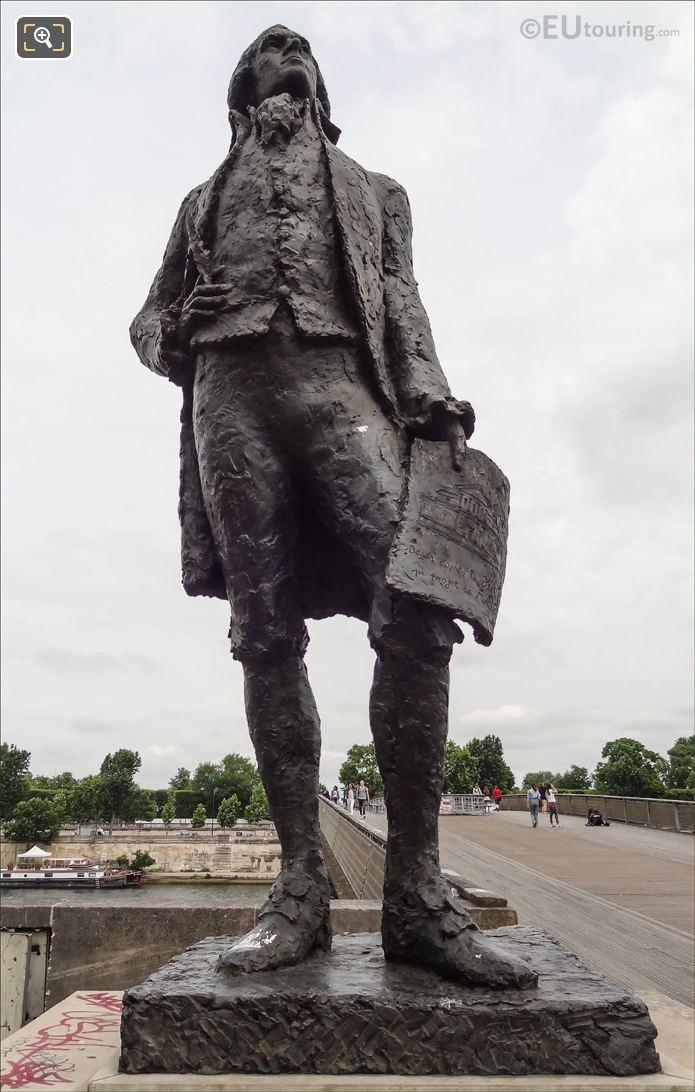 Bronze Thomas Jefferson Monument By Artist Jean Cardot