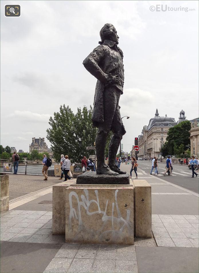 Thomas Jefferson Monument In 7th Arrondissement Of Paris